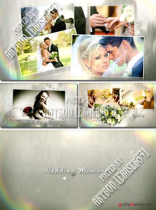 Wedding Moment - Project for After Effects (Videohive) - REUPLOAD