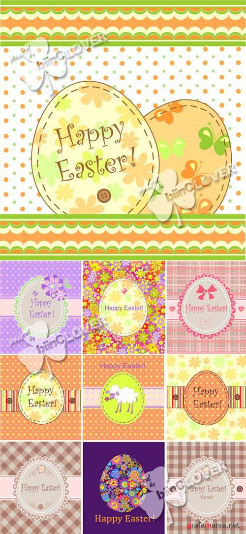Easter greeting card 0119