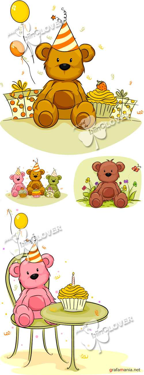 Toy Bear greeting cards 0119