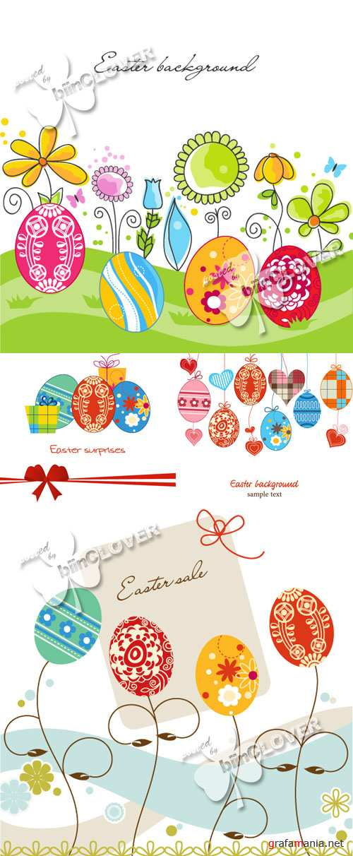 Easter decorative background 0119