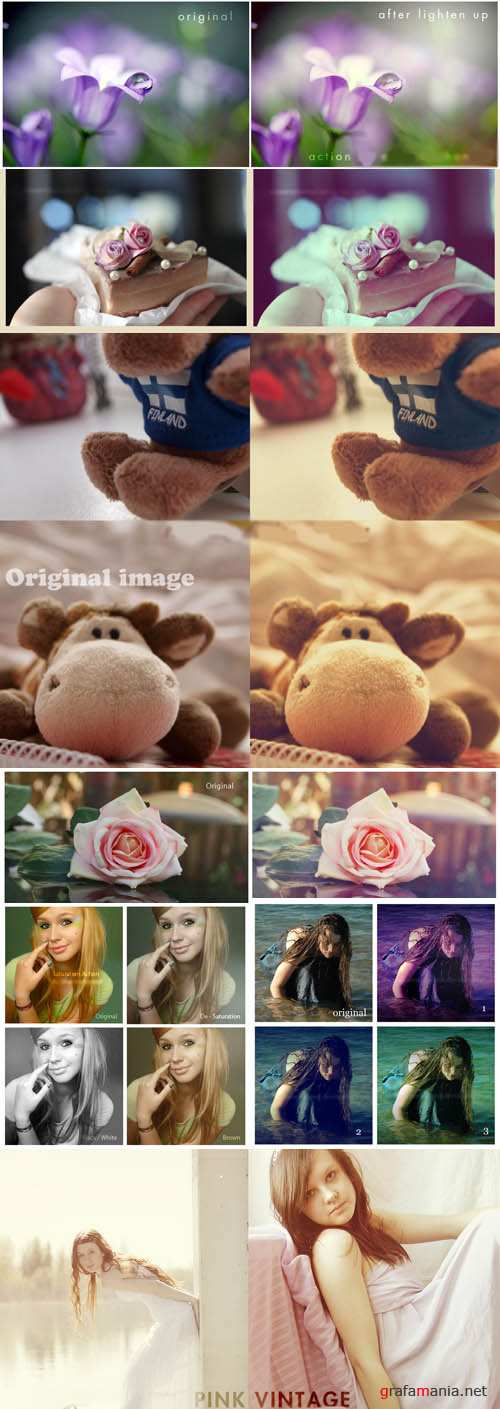 Cool Photoshop Action 2012 pack 414
