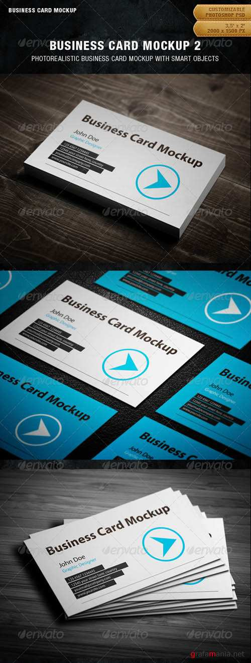 GraphicRiver Business Card Mockup 2
