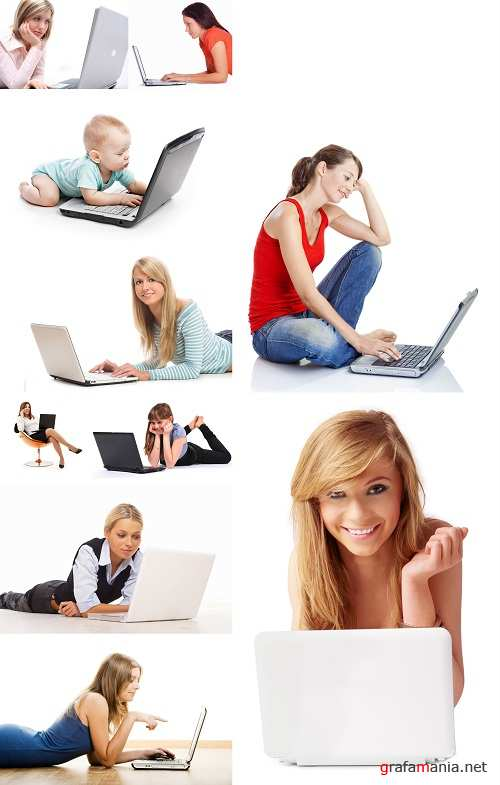 Fotolia: People and Laptop