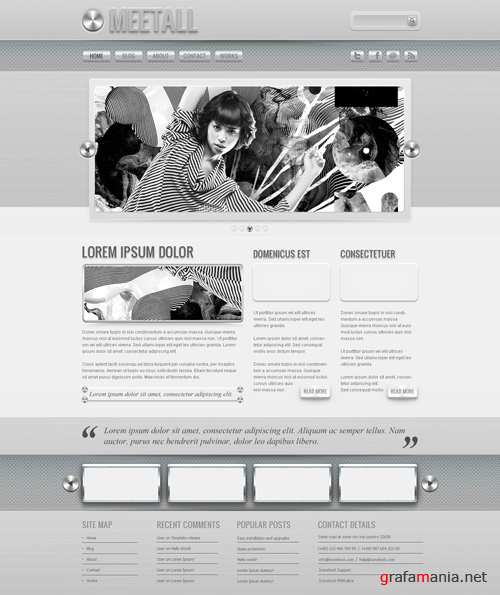 WP Theme - Meetall