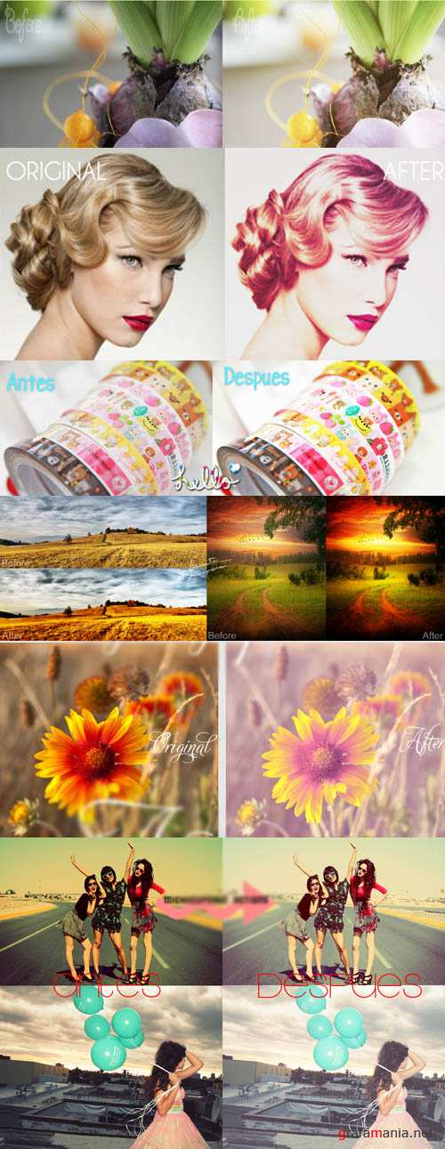 Cool Photoshop Action 2012 pack 429