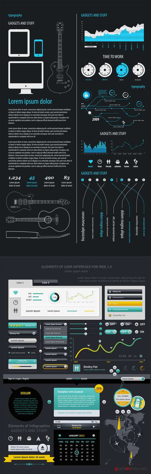 Infographics Vector Pack #16