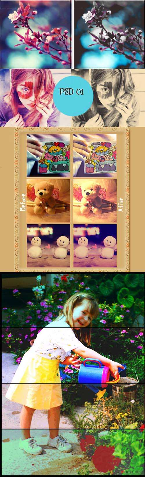 Cool Photoshop Action 2012 pack 438
