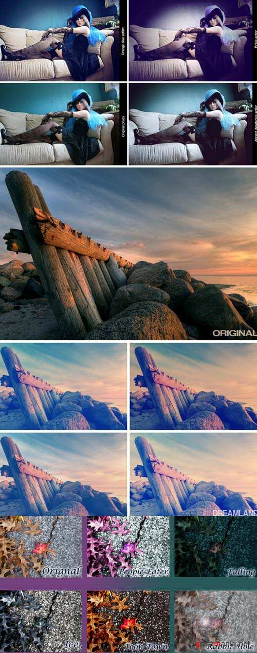 Cool Photoshop Action 2012 pack 440