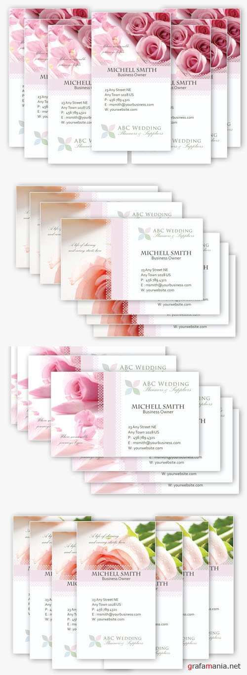 Wedding Pack Templates Psd for Photoshop