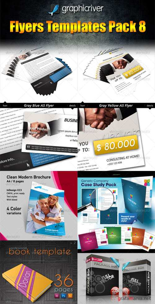 GraphicRiver Flyers Templates Pack 8 - REUPLOAD