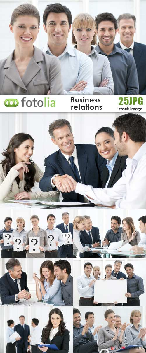 Business Relation - 25 HQ Stock Images Fotolia