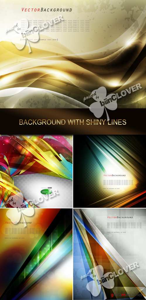 Background with shiny lines