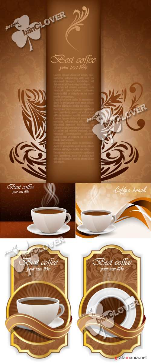Cup of coffee background 0140
