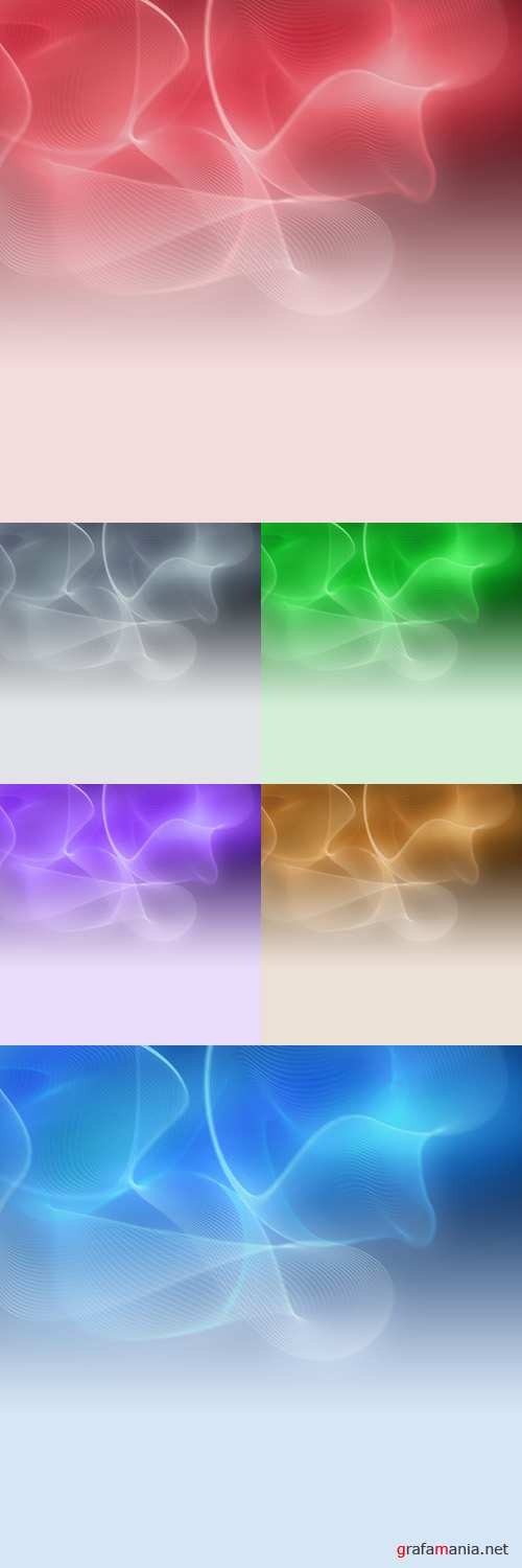 Psd Backgrounds for Photoshop - Waves of Light