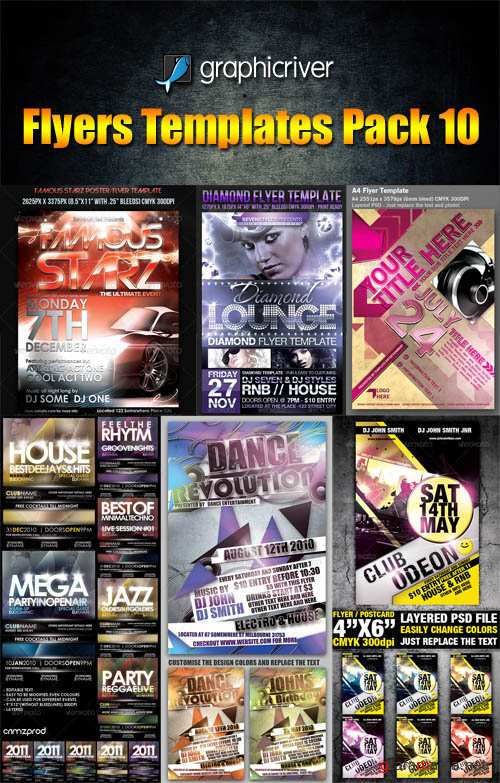 GraphicRiver Flyers Templates Pack 10 - REUPLOAD
