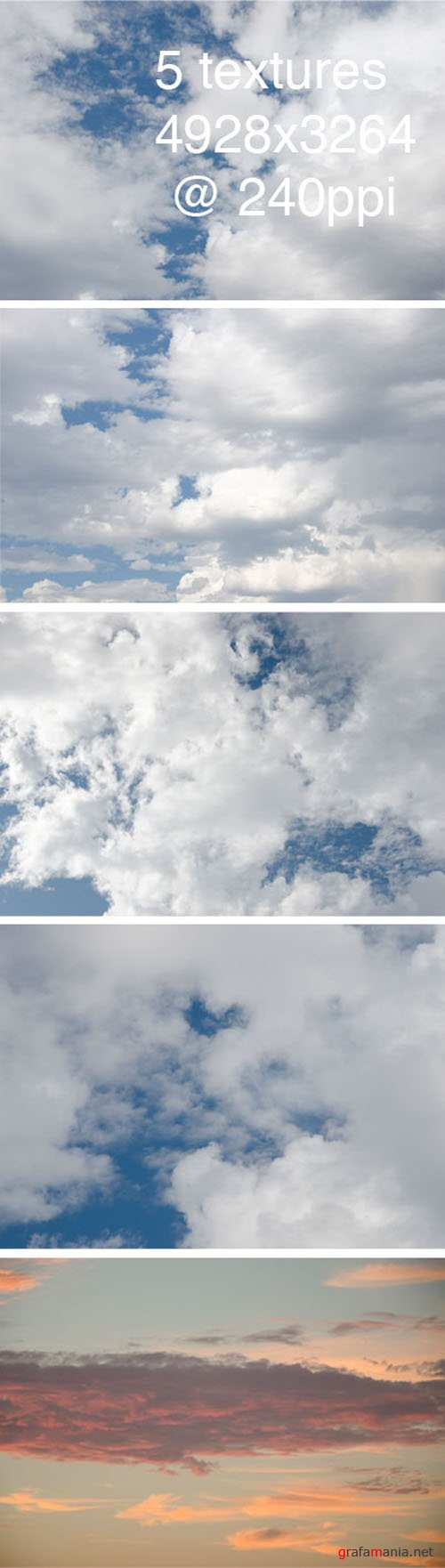 Textures - Clouds Pack 1