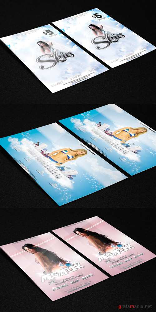 Photoshop Psd Flyer Template