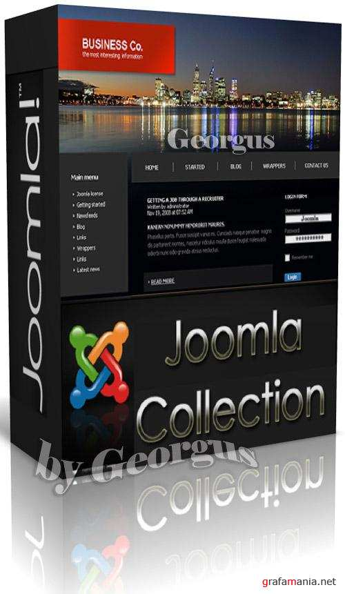Joomla Web Templates - Gold Collection