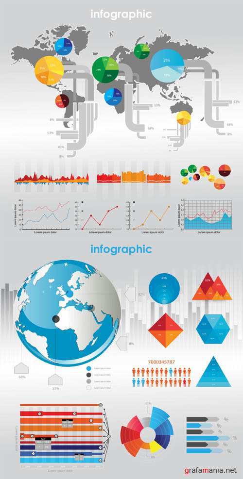 Infographics Vector Pack #58