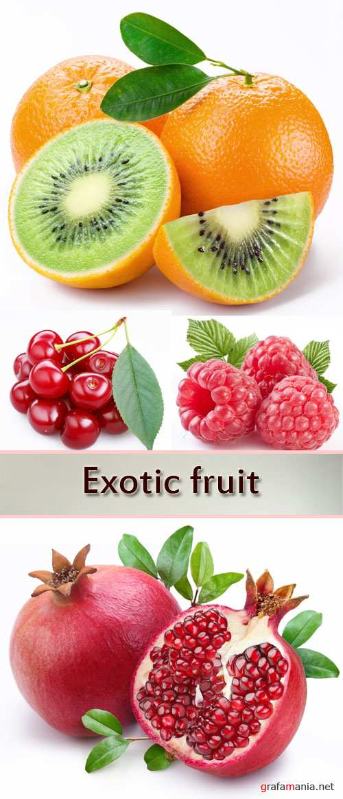 Stock Photo: Fruit and berries 9