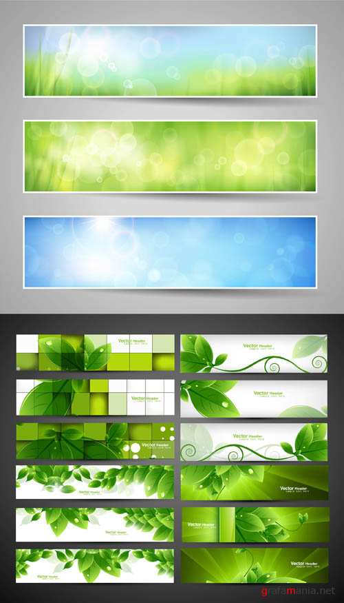 Creative Banners Vector Pack #14