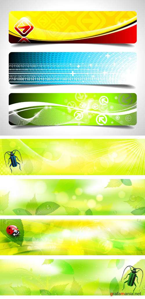 Creative Banners Vector Pack #13