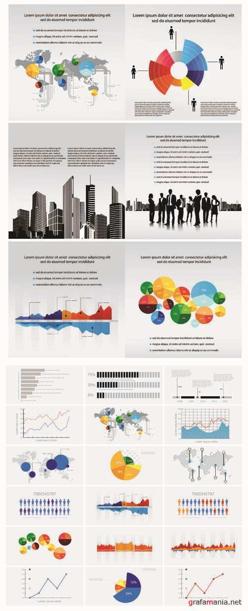 Infographics Vector Pack #60