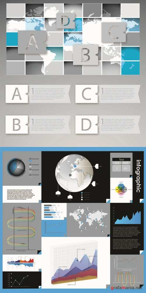 Infographics Vector Pack #62