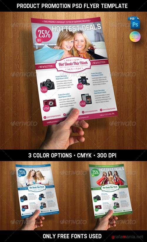 GraphicRiver Product Promotion PSD Flyer Template