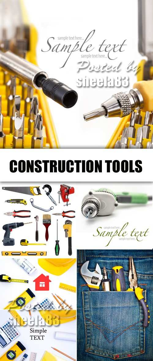 Stock Photo - Construction Tools 3