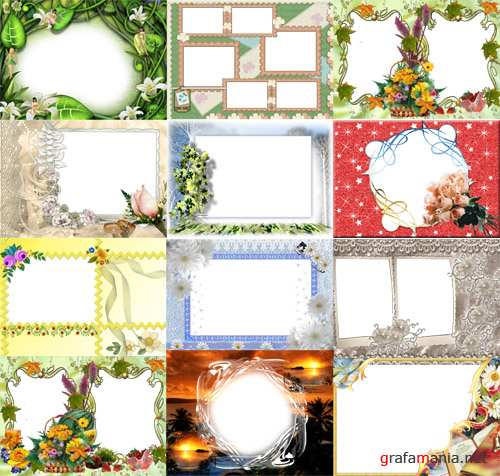 Collection of Spring Photo frames pack 43