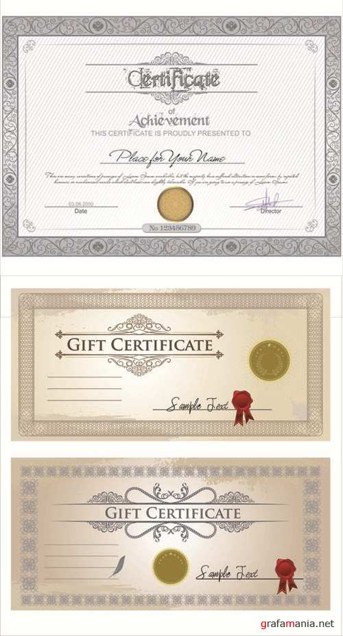 Certificate Vector Set