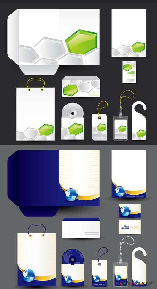 Corporate Business Templates Elements #51' EPS