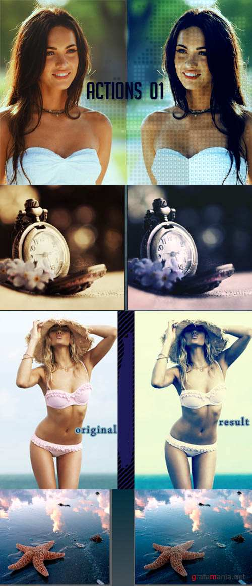 Photoshop Actions 2012 pack 623