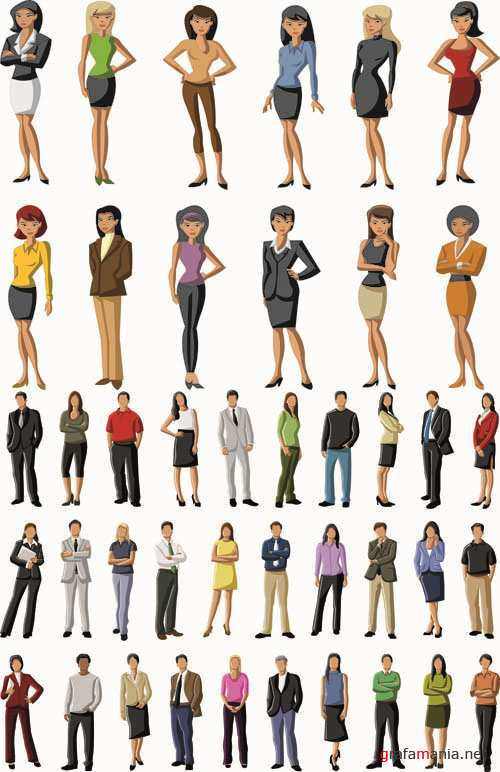 Business People - Vector People Pack #50