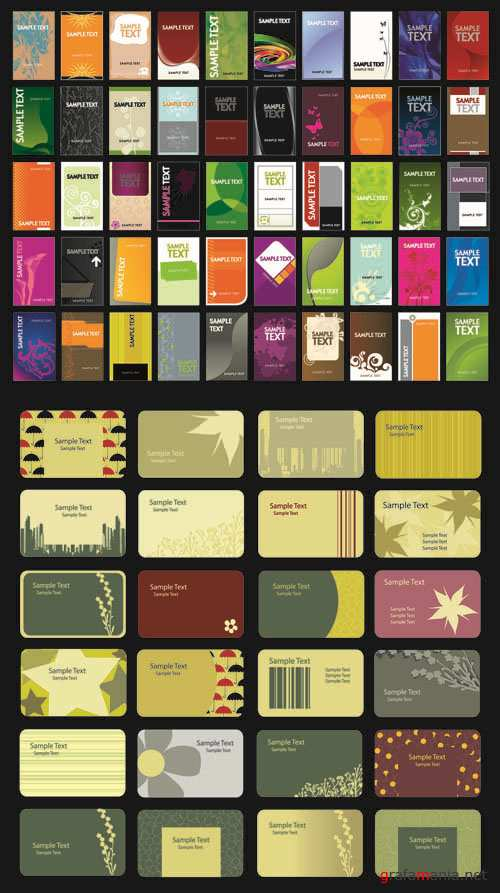 Business Cards - Vector Collection #18