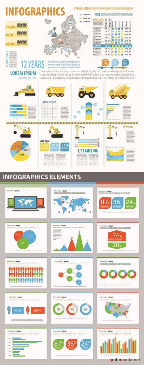 Infographics Vector Pack #170