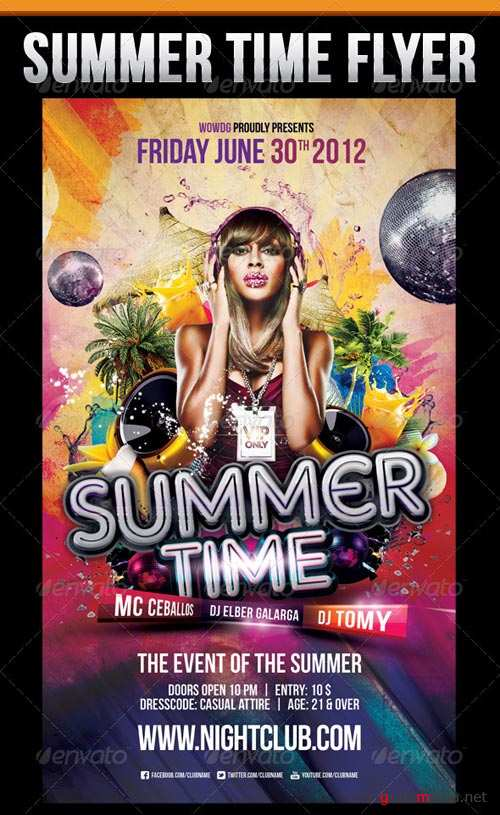 GraphicRiver Summer Time