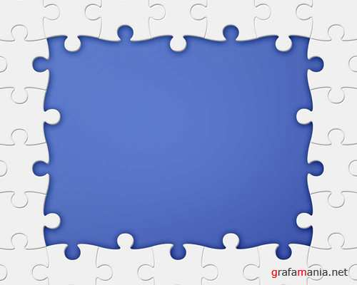 Psd Puzzle Frame Template