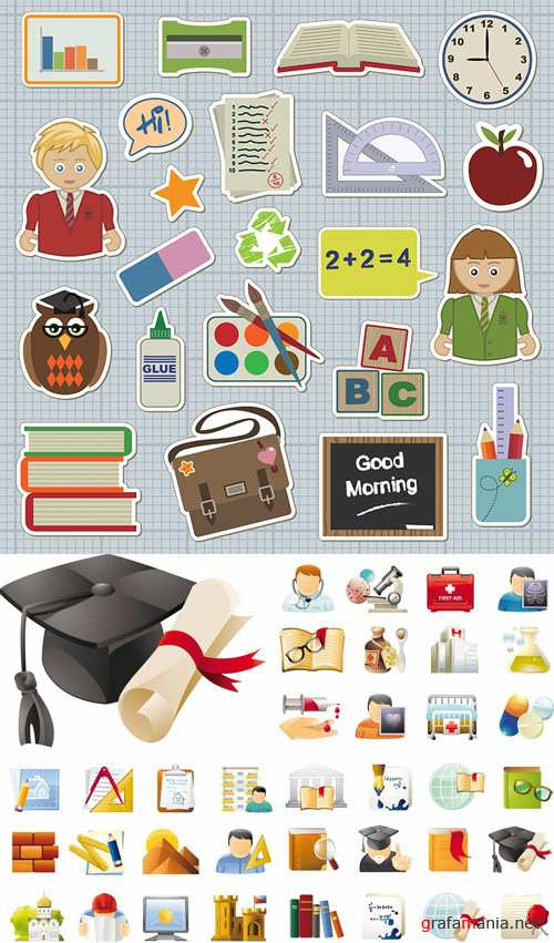 School education Vector