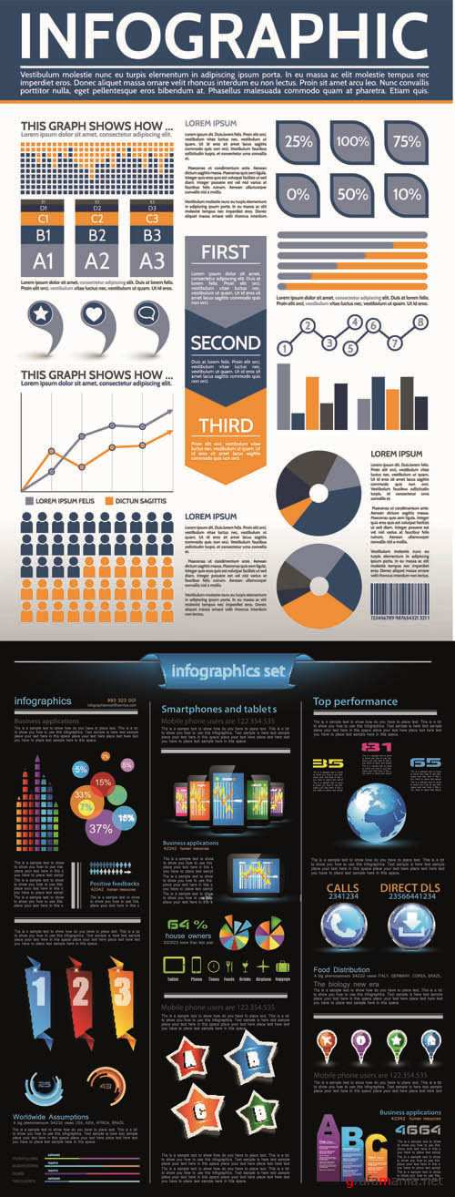 Infographics Vector Pack #173