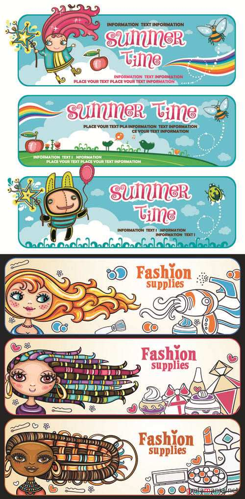 Creative Banners Vector Pack #43