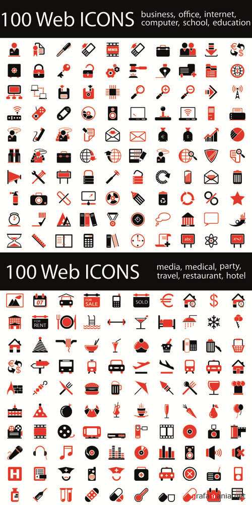 Web Icons - Vector Collection #12
