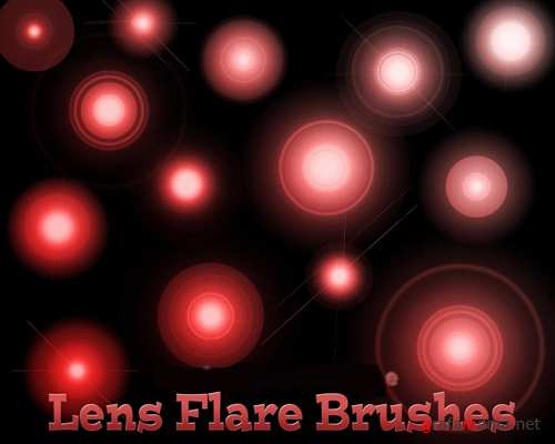 Lens Flare Brushes Set