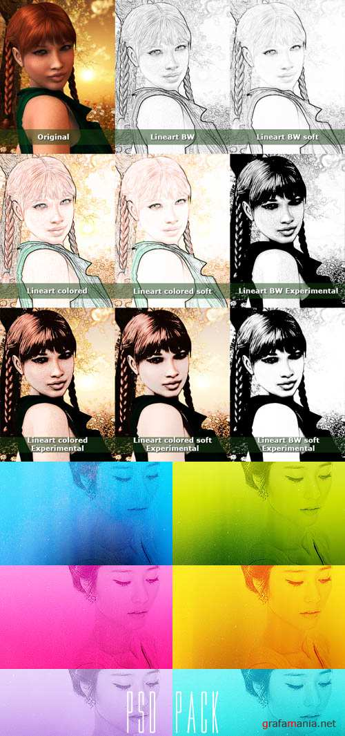 Photoshop Actions 2012 pack 672