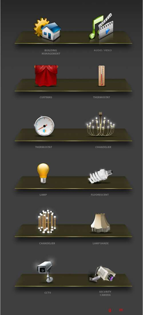 House Management Dock Icons