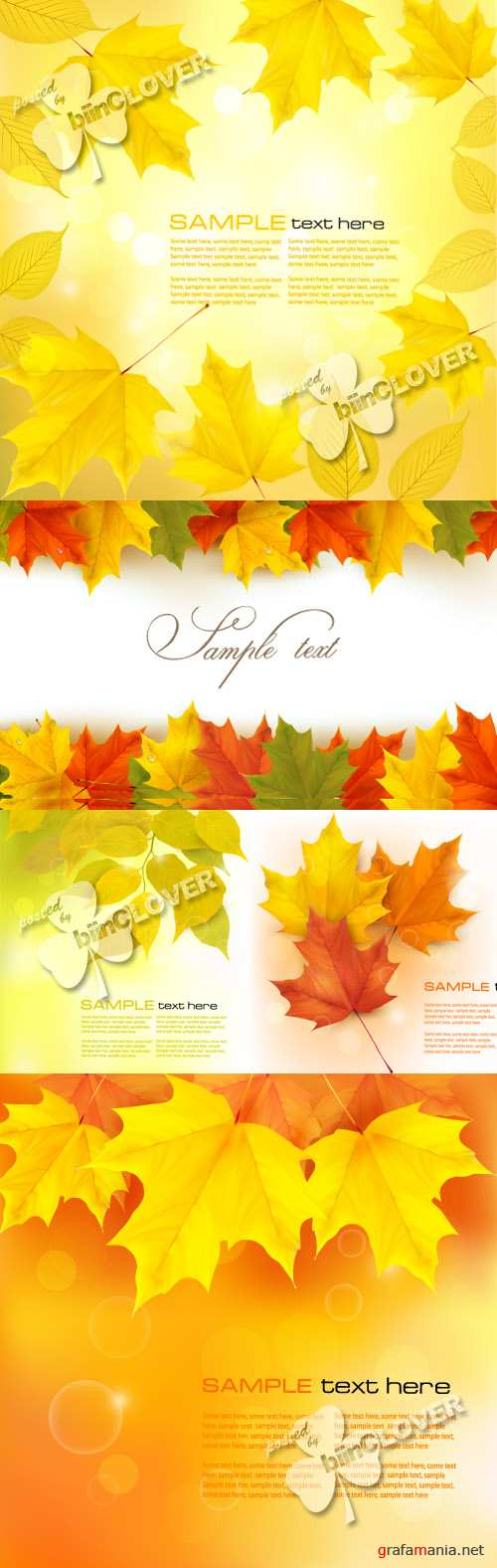 Beautiful autumn background 0232