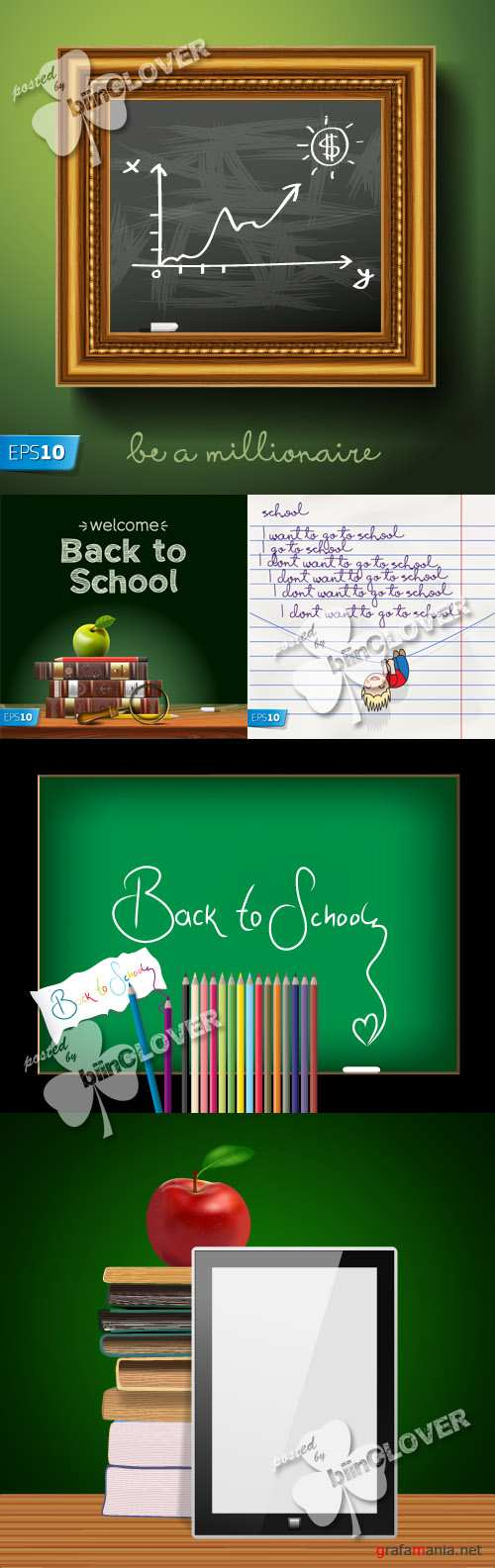 Back to school illustration 0232