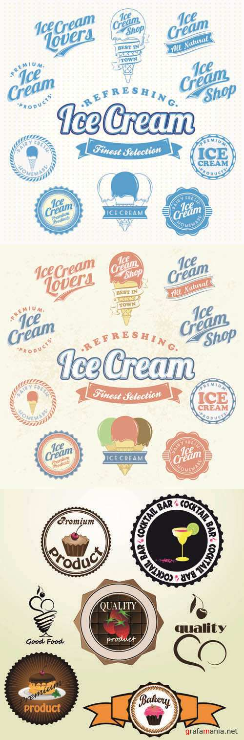 Labels Vector Collection #121