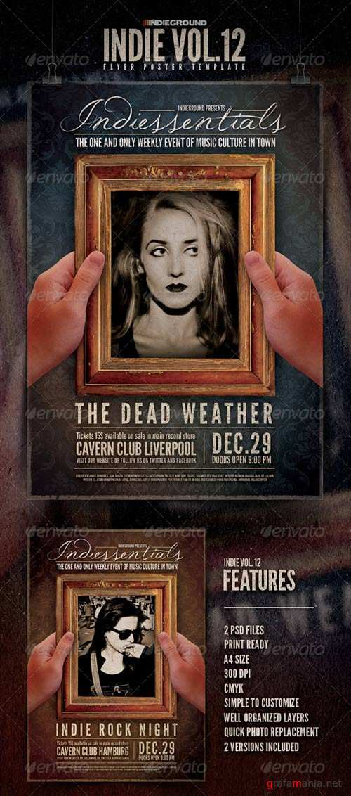 GraphicRiver Indie Flyer/Poster Vol. 12
